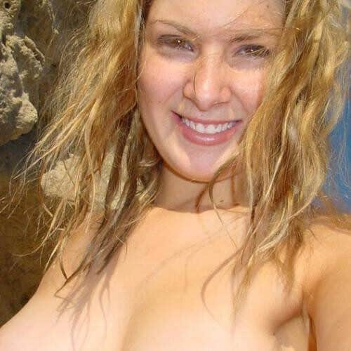 Nudiste los gelaten zonder toezicht